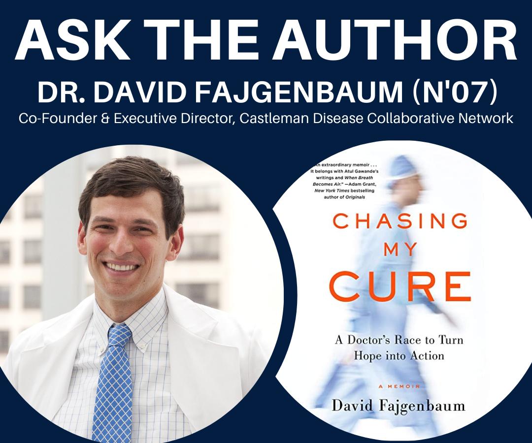 Ask the Author: Dr. David Fajgenbaum